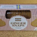 スウェーデンのお菓子:「ニーオーケッシュ ジンジャースナップス オリジナル」を食べる!
